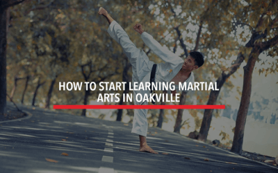 How to Start Learning Martial Arts in Oakville