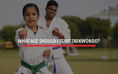 What Age Should I Start Taekwondo?