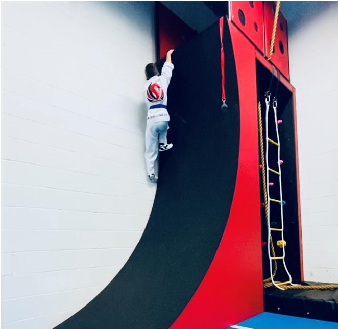 Ninja Course for Kids